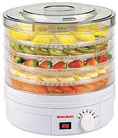 Сушка для овощей и фруктов 245Вт Shivaki 5101-SDH***Ф