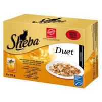 Sheba Duet  85г*28шт - паучи  для кошек