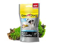 GimDog Nutri Pockets JUNIOR 45г-витамининизированные подушечки для щенков (G-509686)