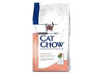 Cat Chow Sensitive 1кг (на вес)-корм с лососем для кошек с чувствительным пищевареньем