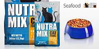 Nutra Mix Seafood  9,07кг -корм для кошек с морепродуктами