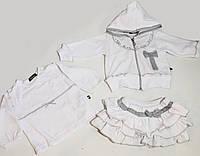 Комплект детский из трикотажа (3 предмета) для малышей р. 62-80   арт. 6388 Турция - 6
