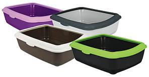 Trixie TX-40310 туалет для кота  Large  с рамкой 37 × 15 × 47 cm  (разных цветов)