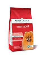 Arden Grange Mini Adult 2кг-корм для  собак мелких пород  с курицей и рисом