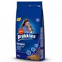 Brekkies Cat Complet 15кг -корм для кошек