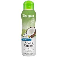 Tropiclean  Lime & Coconut Pet Shampoo - шампунь  против линьки  для собак и котов 355 мл (202528)
