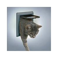 Trixie TX-38602 дверца для кота 2-Way Cat Flap (21 × 21 см,2 магнита)