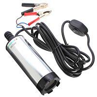 Электрический насос водяной и топливный 12В 720л/ч погружной