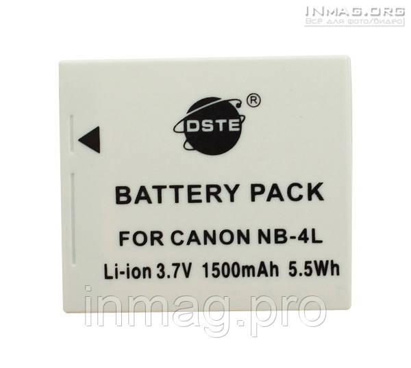 Аккумулятор для фотоаппарата Canon NB-4L, 1500 mAh.