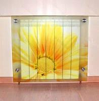 Декор радиатора.экран для батареи из стекла.экран из безопасного стекла., фото 1