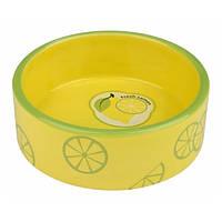 Trixie  TX-25105 миска для собак Fresh Fruits   (0,8л) керамика