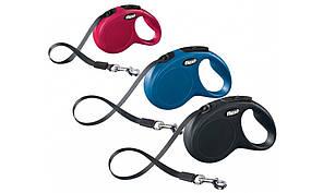 Flexi Classic S (5м лента,до 15кг) - рулетка поводок для собак