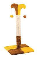 Когтеточка,дряпка  для кота Природа столбик «Клоун» ДО2 (70см х 37см х 37см)