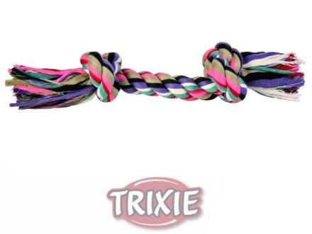 Trixie TX-3273 Канат c 2 узлами 37 см -игрушка для собак