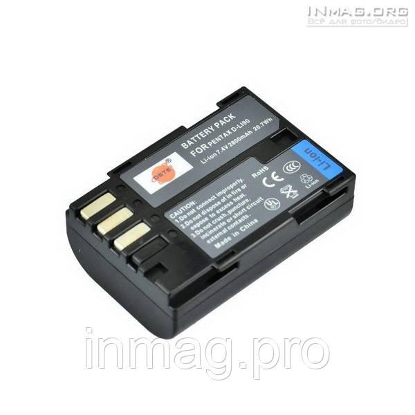 Аккумулятор для фотоаппарата Pentax D-LI90, 2800 mAh.