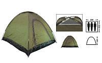 Палатка самораскладывающаяся 3-х местная