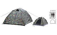 Палатка-автомат двухместная с автоматическим каркасом и с тентом SY-A03-HG