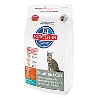Hills Sterilised Cat Young Adult  корм для кастрированные коты и кошки с тунцом 1,5кг (9352)