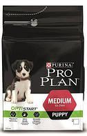 Purina Pro Plan Puppy Medium Optistart  12кг-для щенков средних пород с курицей