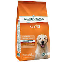Arden Grange Senior 12кг- корм для стареющих собак (AG607346)