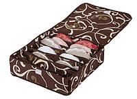 Коробочка на 7 секций с крышкой Горячий Шоколад