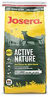 Josera Active Nature 15кг - корм для активных собак с повышенным содержанием мяса ягненка и птицы