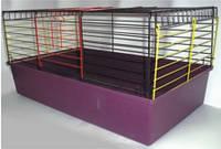 Лори Кролик- 80 крашенная клетка для грызунов