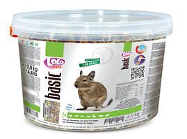 Lolo Pets Полнорационный корм для дегу 2кг LO-71761