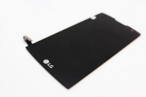 Дисплей с тачскрином LG H320, H324, H340, H345 Leon черный в рамке