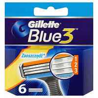 Gillette Blue 3 Cartridge 6 шт