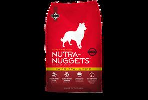 Nutra Nuggets Lamb&Rice 3кг- гипоаллергенный корм для собак с ягнёнком