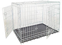 Croci Клетка для собак складная, 2 входа, цинк  93*62*69см  (C2D00054)
