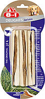 8in1 Beef Delights  (13см) * 3 шт  палочки для чистки зубов у собак с вкусом мяса