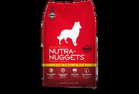 Nutra Nuggets Lamb&Rice 15кг- гипоаллергенный корм для собак с ягнёнком