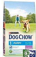 Dog Chow Puppy Lamb 2,5кг корм для щенков и собак мелких пород с ягненком