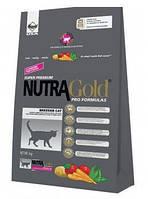 Nutra Gold Cat Breeder 18кг- корм для кошек с мясом курицы,овощами и океанической рыбой