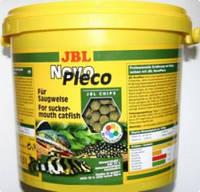 JBL  NovoPleco 5,5 л корм для  рыб-присосок (30319)
