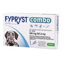 Фиприст комбо (Fypryst combo) для собак 20-40 кг/1 пипетка( KRKA)