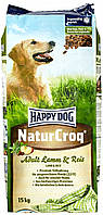 Happy Dog  Natur Сroq  Lamm Reis для взрослых собак (ягненок и рис) 15кг  с чувствительным пищеварением