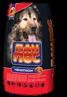 Пан-Пес Чемпион 10кг для активных собак *2 шт (20кг) + бесплатная доставка по всей Украине !