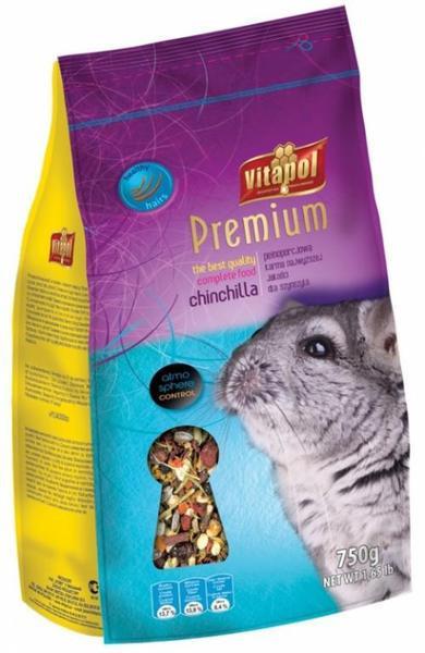 Vitapol Karma Premium  корм для шиншилл 0,75 кг (0162)