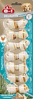 8in1 Delights Dental  XS (7,5см) * 7 шт кость для чистки зубов у собак с вкусом мяса