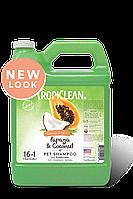 Tropiclean Papaya Plus 2 in 1 - Шампунь + кондиционер для собак и кошек 3,8л (060135)