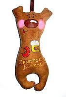 Кофейная игрушка Мишутка с пасхой