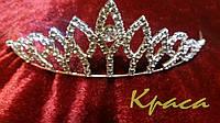 Диадема-коронка на тонком обруче Снежная королева