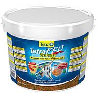 TetraPro Energy (708470 /141582) Полноценный корм для тропических рыб в виде чипсов 10L/2,1кг