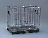 Foshan 512К-клетка металлическая  для собак  120х74х82см