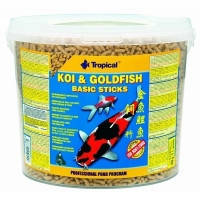 Tropical KOI & GoldFish Basic Sticks 21л-корм для прудовых рыб