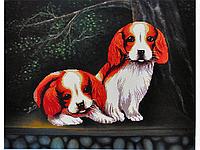 Набор для вышивки картины Озорники 77х60см