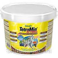 TetraMin XL Flakes 10L/2,1кг для всех видов тропических рыб (703488 /769946)